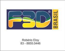 Nro 27 kilpailuun Logo para Filamentos 3D Brasil käyttäjältä eloy62