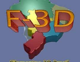 Nro 30 kilpailuun Logo para Filamentos 3D Brasil käyttäjältä WashingtonBruno