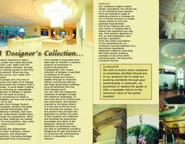 #21 untuk Brochure Design for Chris Savage Plaster Designs oleh ScubeITC