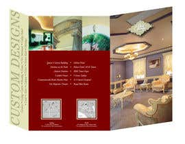artius tarafından Brochure Design for Chris Savage Plaster Designs için no 28