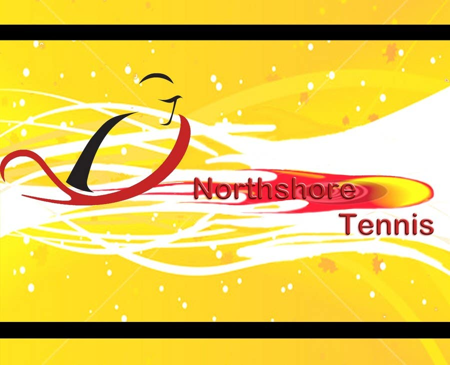 "Intrarea #65 pentru concursul ""Logo Design for Northshore Tennis"""