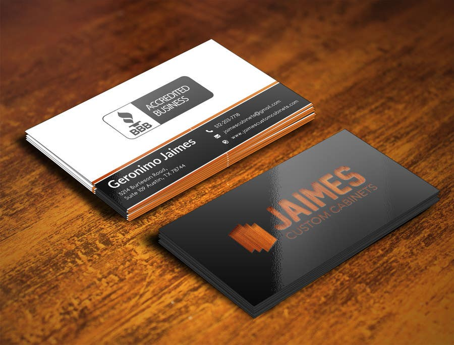 Entry #7 by imimam96 for Design some Business Cards For Cabinet ...