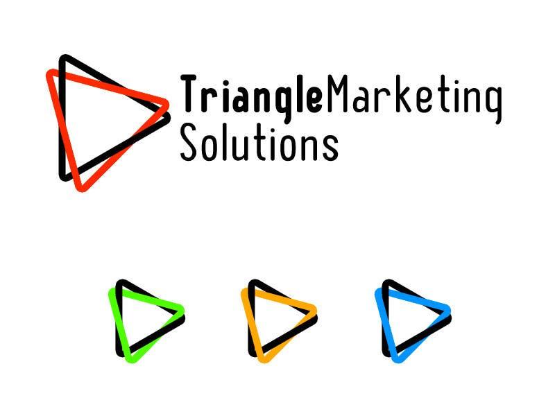 Penyertaan Peraduan #64 untuk Design a Logo for Traingle Marketing Solutions