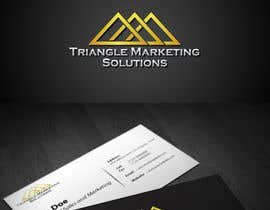 #48 untuk Design a Logo for Traingle Marketing Solutions oleh genqydy