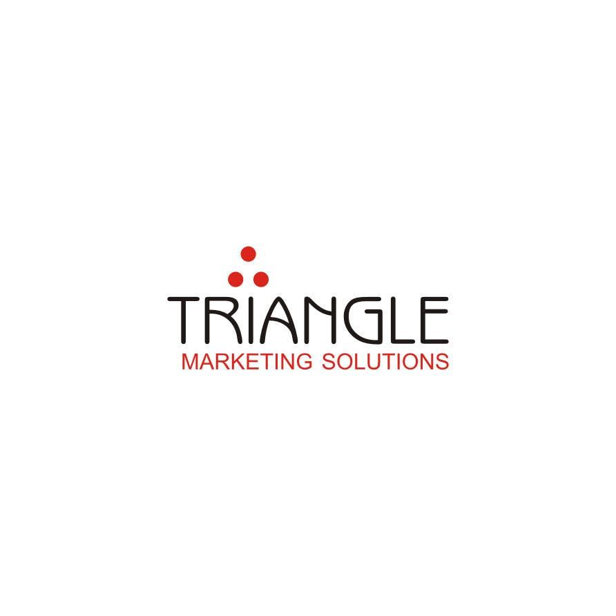Penyertaan Peraduan #44 untuk Design a Logo for Traingle Marketing Solutions