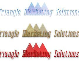 #57 untuk Design a Logo for Traingle Marketing Solutions oleh mhbkids
