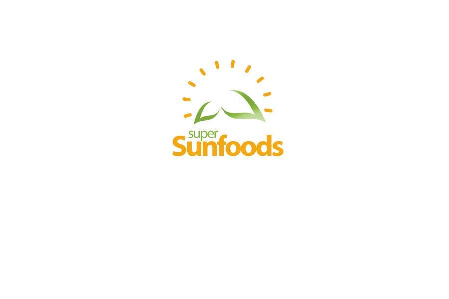 Penyertaan Peraduan #55 untuk Design a Logo for Super Sunfoods: Your Health Supplement Store