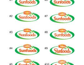 #63 para Design a Logo for Super Sunfoods: Your Health Supplement Store por ajdezignz