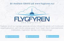 Design a flyer for an aviation social network on the Internet için Graphic Design14 No.lu Yarışma Girdisi