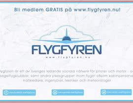 nº 17 pour Design a flyer for an aviation social network on the Internet par filipscridon