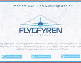 nº 24 pour Design a flyer for an aviation social network on the Internet par filipscridon
