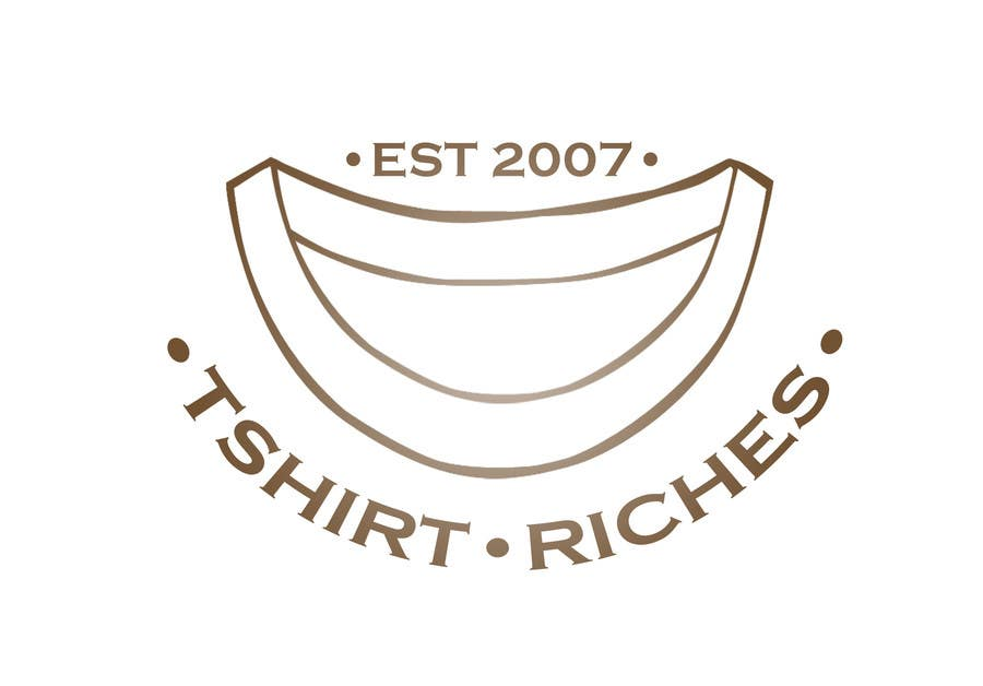 Bài tham dự cuộc thi #                                        50                                      cho                                         Design a Logo for TshirtRiches