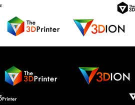 #70 for Design a Logo for 3DION & THE 3D PRINTER by thimsbell