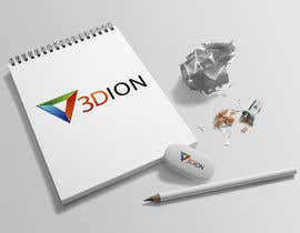 #76 for Design a Logo for 3DION & THE 3D PRINTER by thimsbell
