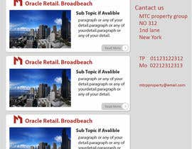 hemanthalaksiri tarafından Design a Email Template for Real Estate Business için no 4