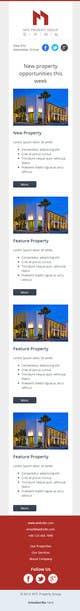 Contest Entry #2 for Design a Email Template for Real Estate Business