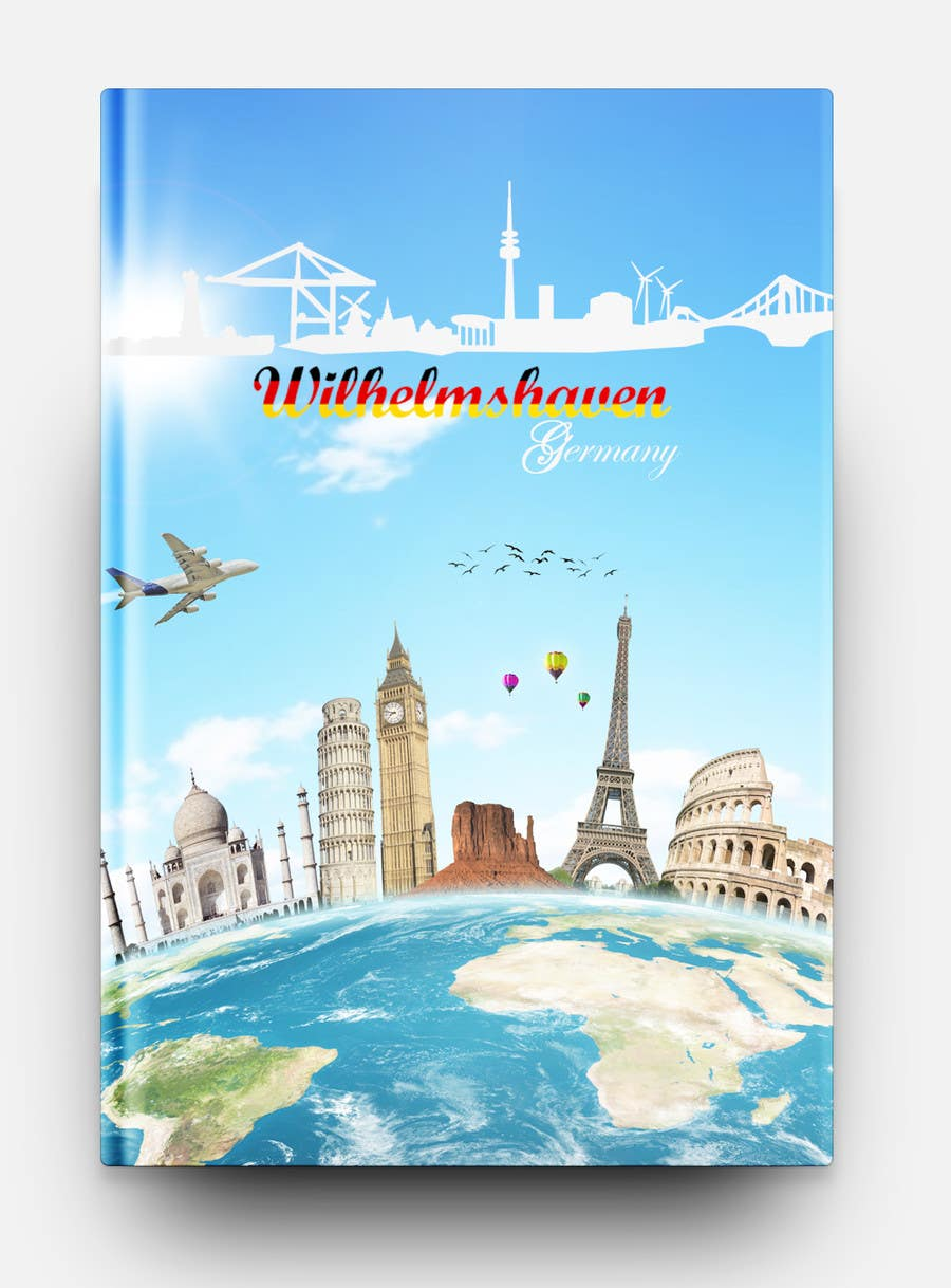 Travel Book Cover ~ Ebook travel guide cover design ipad format px