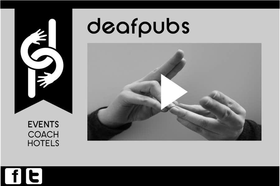 #6 for Design a Website Mockup for Deaf Pubs by ben2ty