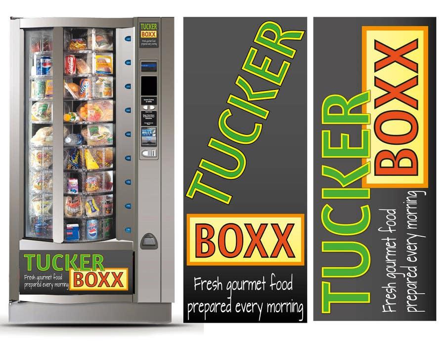 Inscrição nº                                         149                                      do Concurso para                                         Graphic Design (logo, signage design) for TuckerBoxx fresh food vending machines
