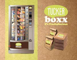 sonotdesign tarafından Graphic Design (logo, signage design) for TuckerBoxx fresh food vending machines için no 123