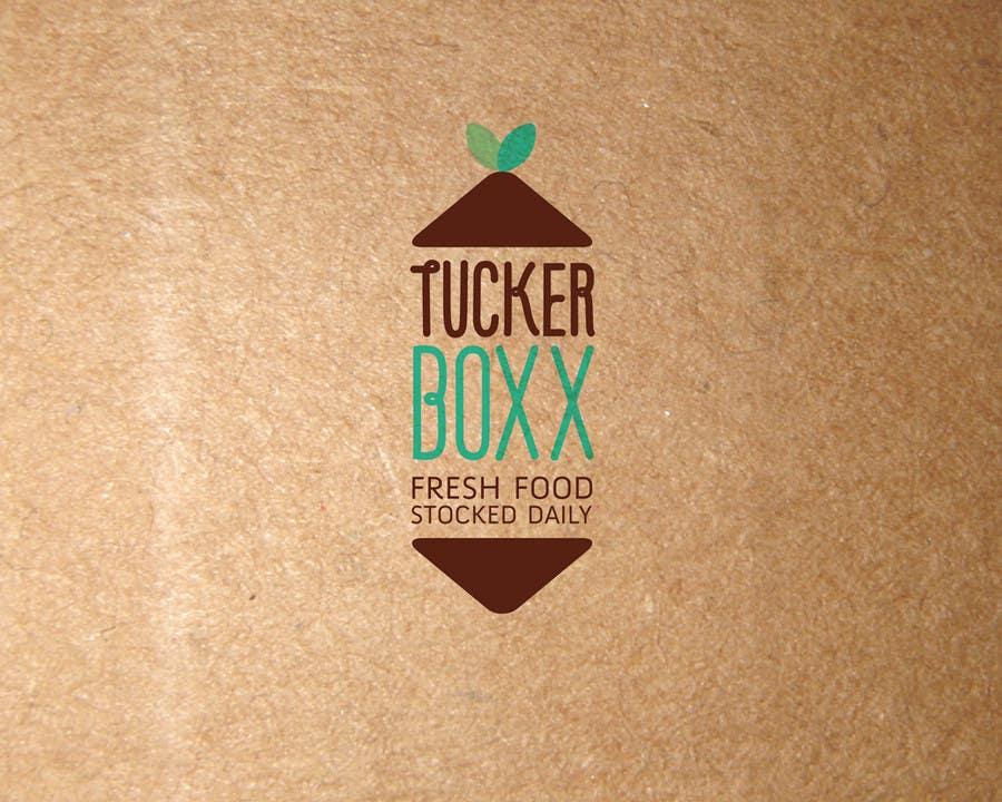 Конкурсная заявка №125 для Graphic Design (logo, signage design) for TuckerBoxx fresh food vending machines