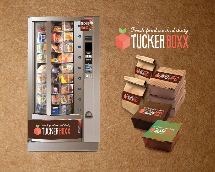 Inscrição nº                                         122                                      do Concurso para                                         Graphic Design (logo, signage design) for TuckerBoxx fresh food vending machines