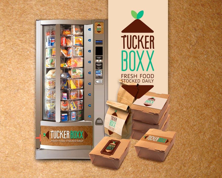 Конкурсная заявка №152 для Graphic Design (logo, signage design) for TuckerBoxx fresh food vending machines