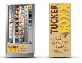#138 for Graphic Design (logo, signage design) for TuckerBoxx fresh food vending machines by krismik