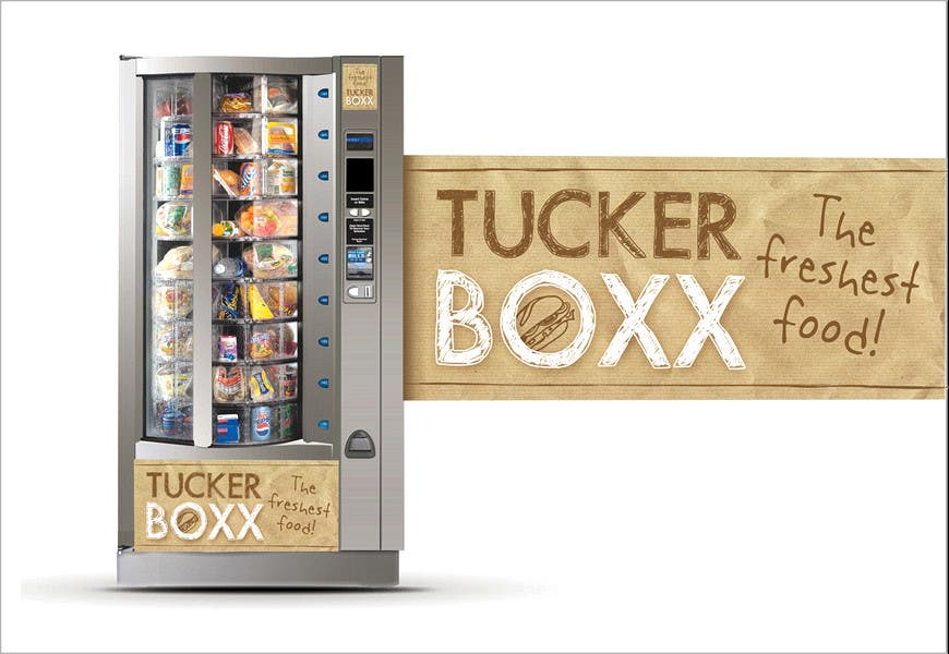 Inscrição nº                                         61                                      do Concurso para                                         Graphic Design (logo, signage design) for TuckerBoxx fresh food vending machines