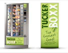#136 para Graphic Design (logo, signage design) for TuckerBoxx fresh food vending machines por krismik
