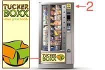 Graphic Design Inscrição do Concurso Nº88 para Graphic Design (logo, signage design) for TuckerBoxx fresh food vending machines