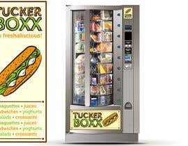 #128 for Graphic Design (logo, signage design) for TuckerBoxx fresh food vending machines by ShinymanStudio