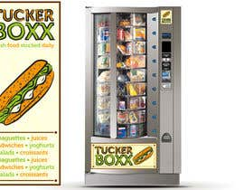 #127 for Graphic Design (logo, signage design) for TuckerBoxx fresh food vending machines by ShinymanStudio
