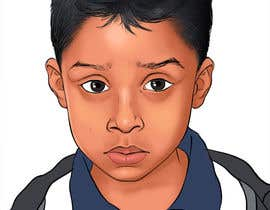 #37 para Caricature design of my son por AkshayArtPawar