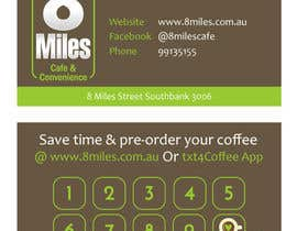 #11 for Design a Cafe Business Card & Coffee Card on back af petersamajay
