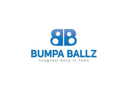 "iffikhan tarafından Create a LOGO for business name ""BUMPA BALLZ"" & one for ""BB"" - include slogan ""Toughest Ballz in town"" için no 55"