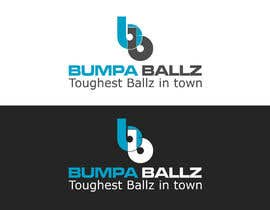 "billahdesign tarafından Create a LOGO for business name ""BUMPA BALLZ"" & one for ""BB"" - include slogan ""Toughest Ballz in town"" için no 73"
