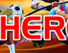 "#18 for Design a banner for ""YOUR AD HERE"" live sports site af jsanjeew"