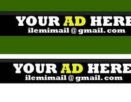 "nadeekadt tarafından Design a banner for ""YOUR AD HERE"" live sports site için no 12"