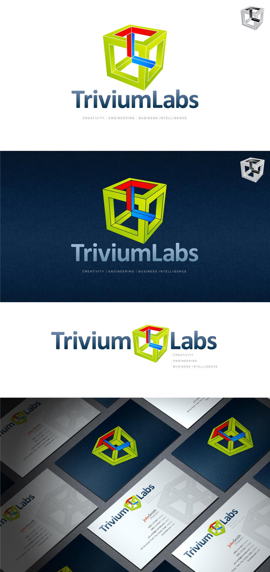 Penyertaan Peraduan #74 untuk Design a Logo for Trivium Labs