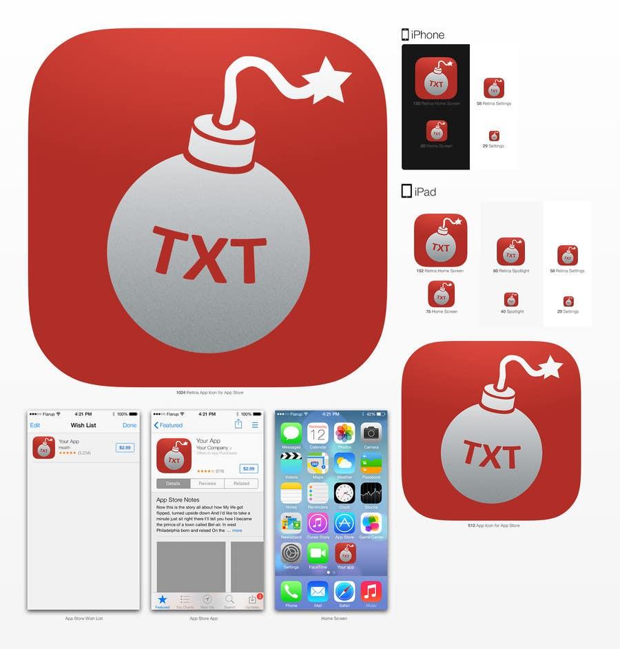 Inscrição nº 6 do Concurso para Design an icon and splash screen for an iOS app