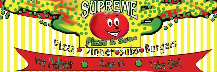 Bài tham dự cuộc thi #                                        96                                      cho                                         Design a sign for a pizzeria