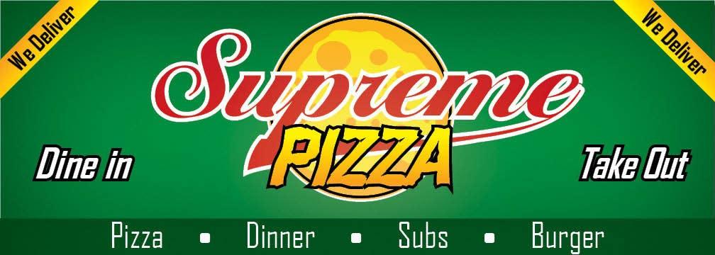 Bài tham dự cuộc thi #                                        108                                      cho                                         Design a sign for a pizzeria