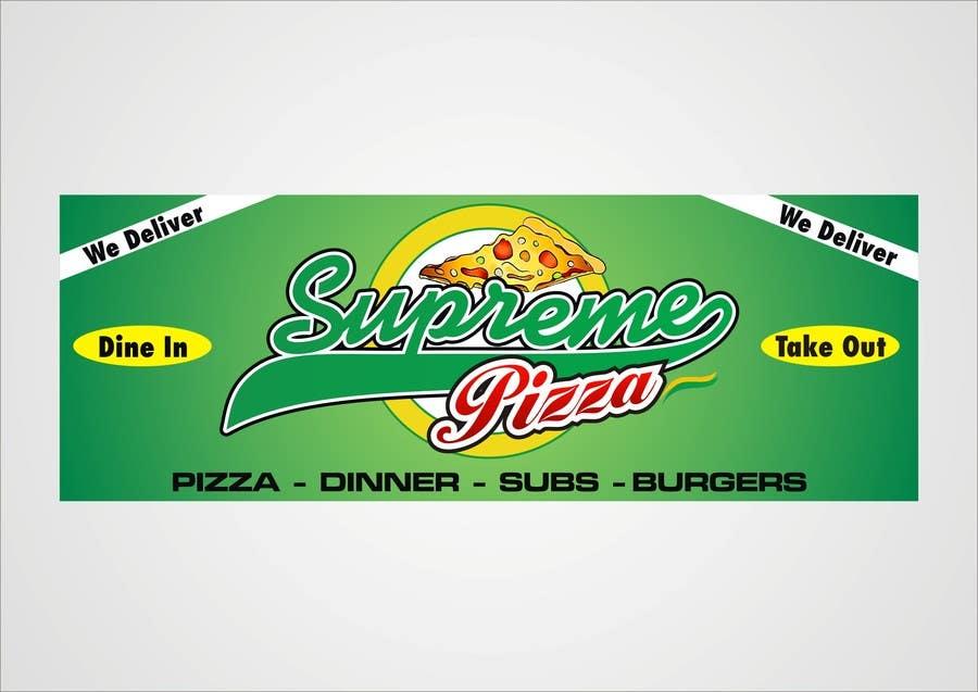 Bài tham dự cuộc thi #                                        52                                      cho                                         Design a sign for a pizzeria