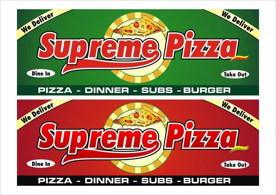 Bài tham dự cuộc thi #                                        61                                      cho                                         Design a sign for a pizzeria