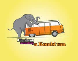 #2 for Logo Design - Elephant mounting a Kombi van by kangian