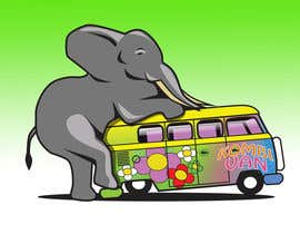 #6 for Logo Design - Elephant mounting a Kombi van by Radiant1976