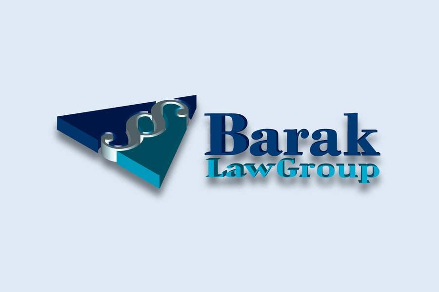 Inscrição nº                                         293                                      do Concurso para                                         Logo Design for Barak Law Group