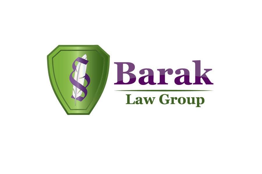 Inscrição nº                                         114                                      do Concurso para                                         Logo Design for Barak Law Group