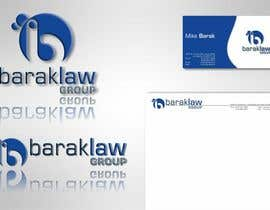 #290 para Logo Design for Barak Law Group por catalin214